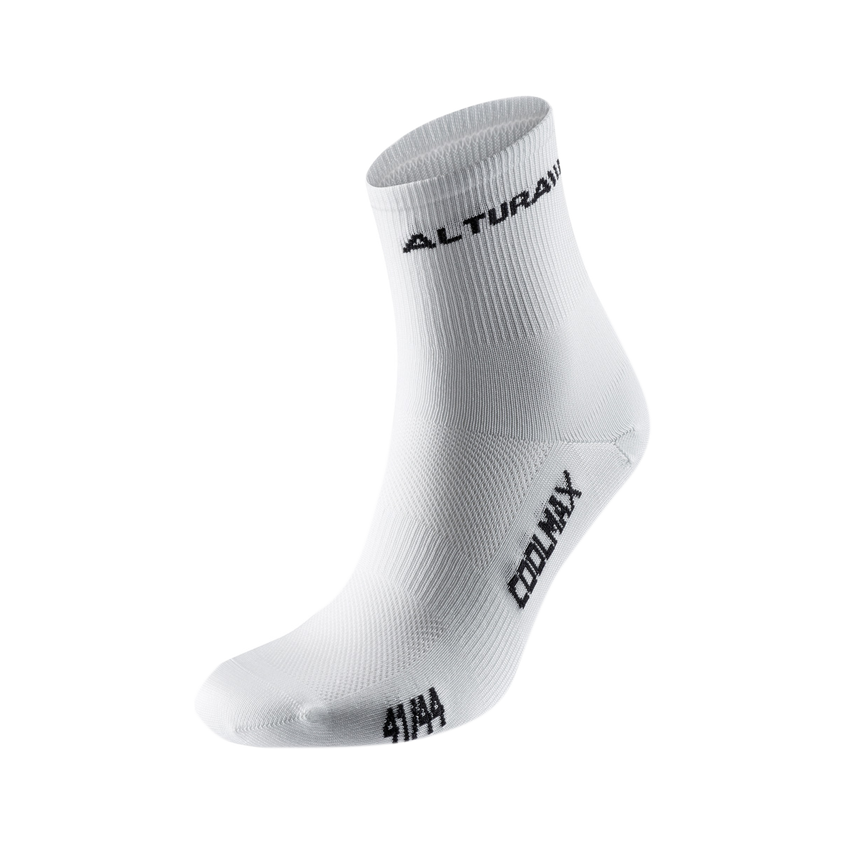 COOLMAX SPORT SOCK 3 PACK 2015: BLACK S (4-6)