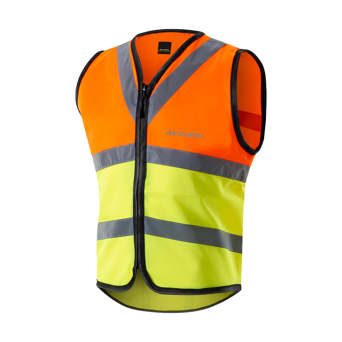 ALTURA CHILDREN'S NIGHTVISION SAFETY VEST 2016: HI VIZ YELLOW 10-12YRS