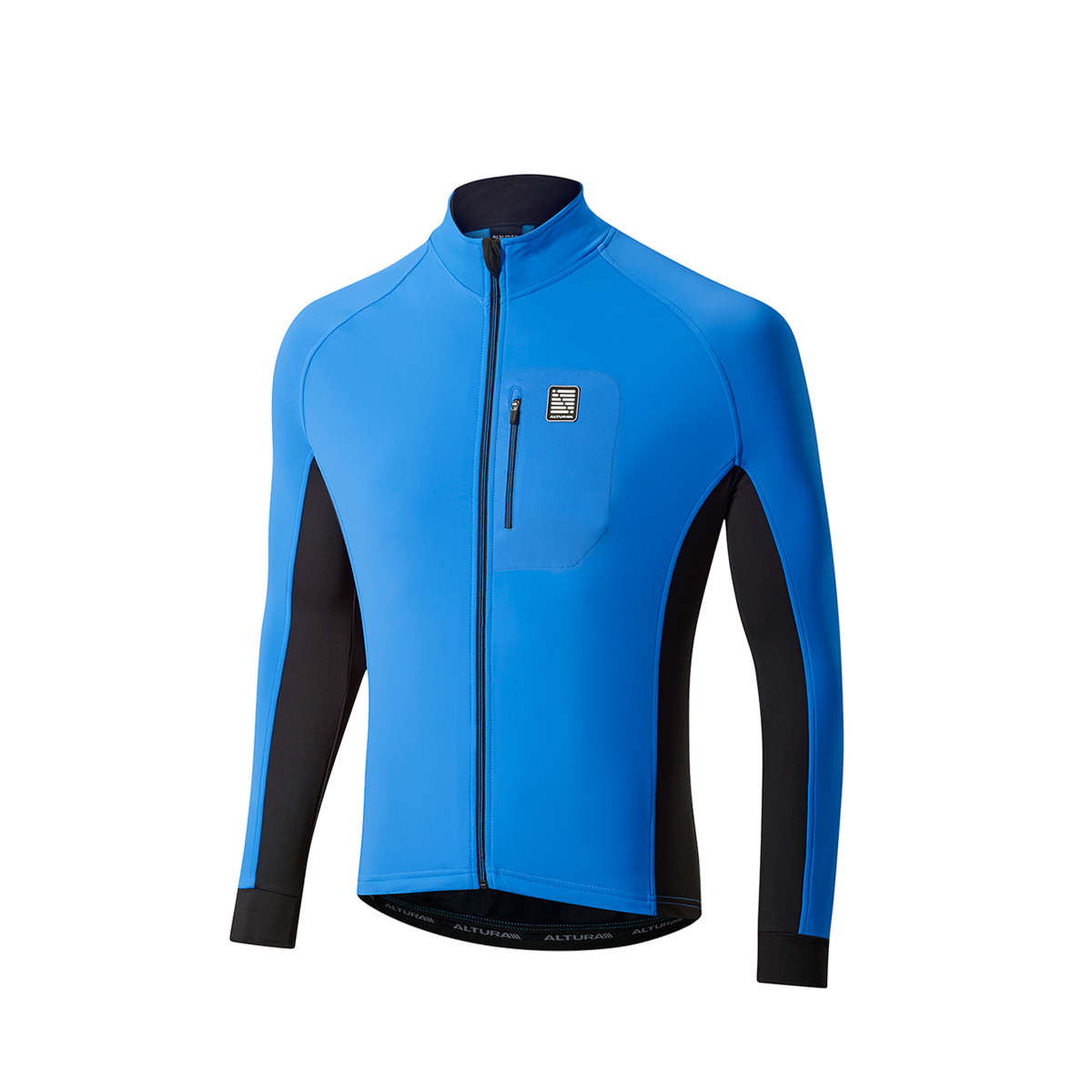 ALTURA PELOTON WINDPROOF JACKET 2016: TEAM BLUE/BLACK L