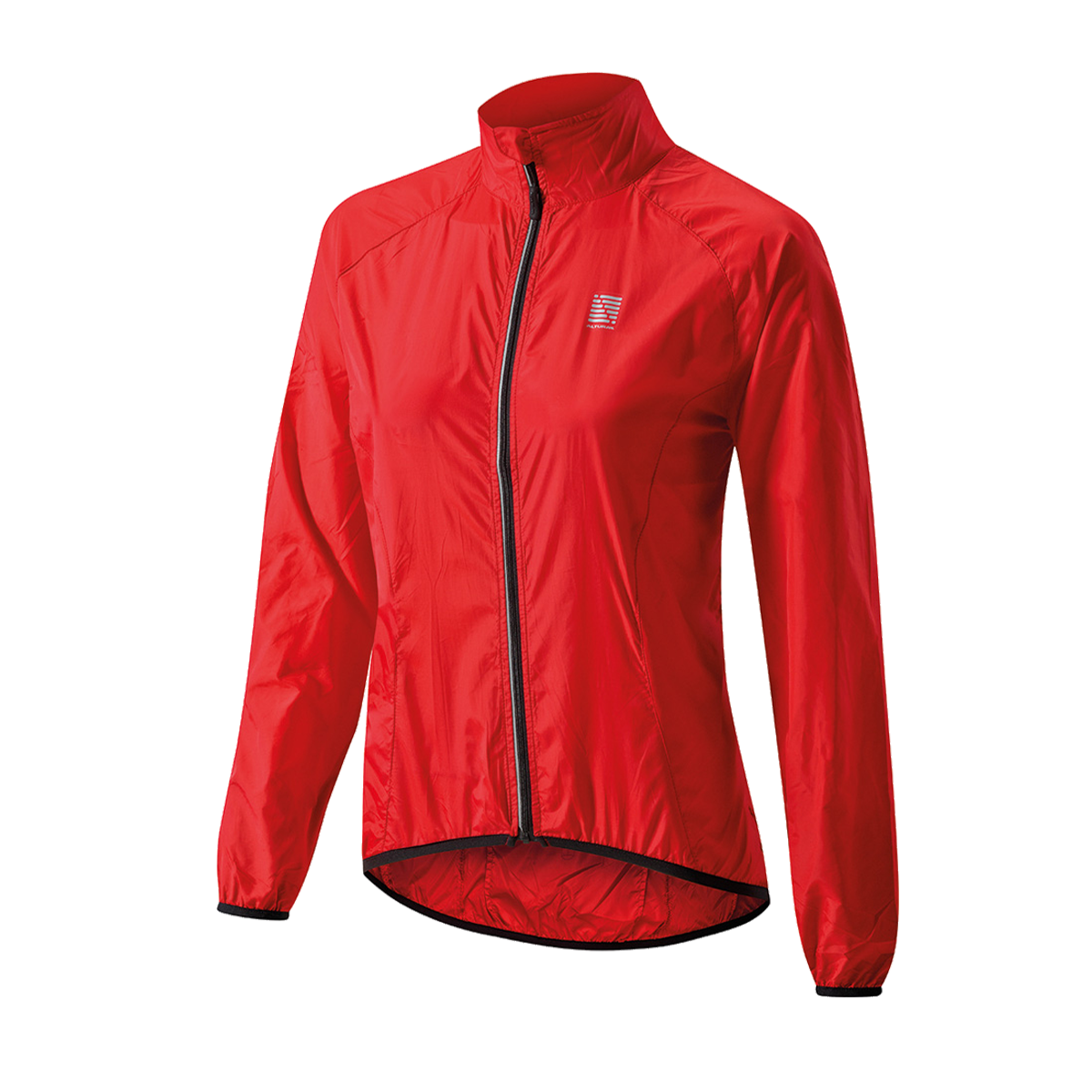 ALTURA WOMEN'S MICROLITE SHOWERPROOF JACKET 2016: RED/BLACK 10