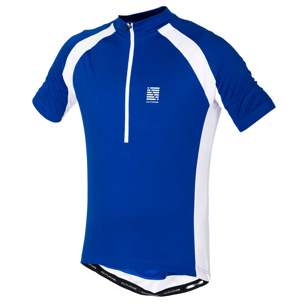 ALTURA AIRSTREAM SHORT SLEEVE JERSEY 2015: BLUE/WHITE L