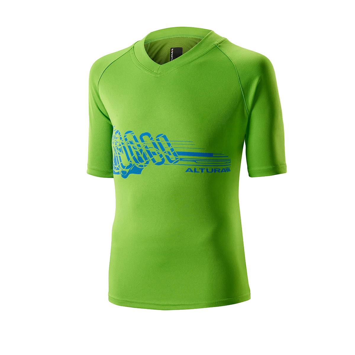 ALTURA CHILDREN'S SPARK BAMBOO TEE 2015: GREEN 10-12YRS
