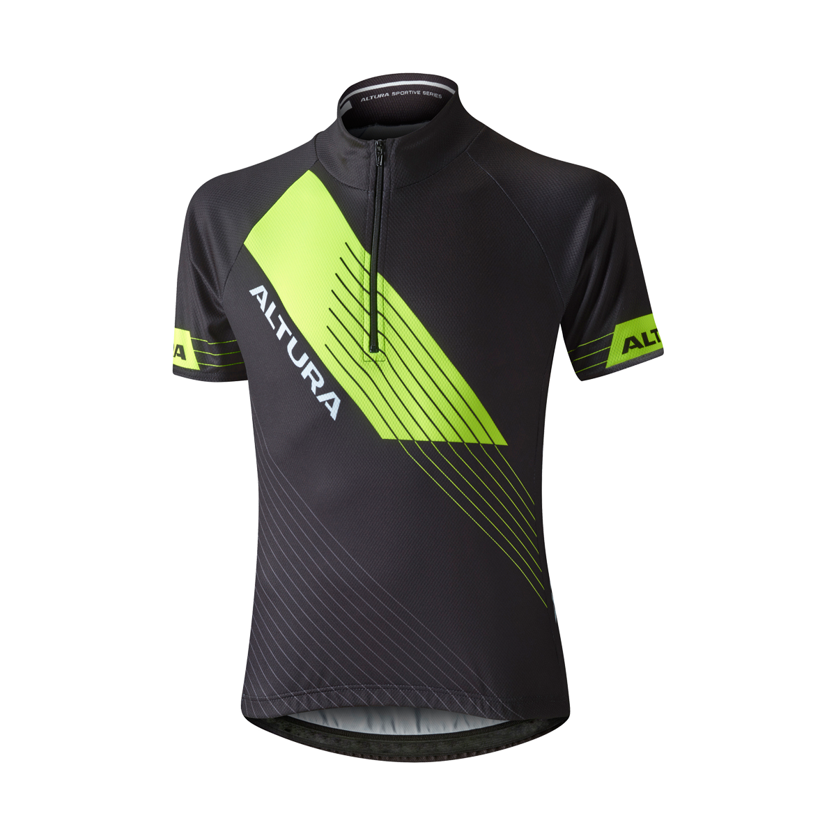 ALTURA YOUTH SPORTIVE SHORT SLEEVE JERSEY 2016: BLUE/BLACK 10-12YRS